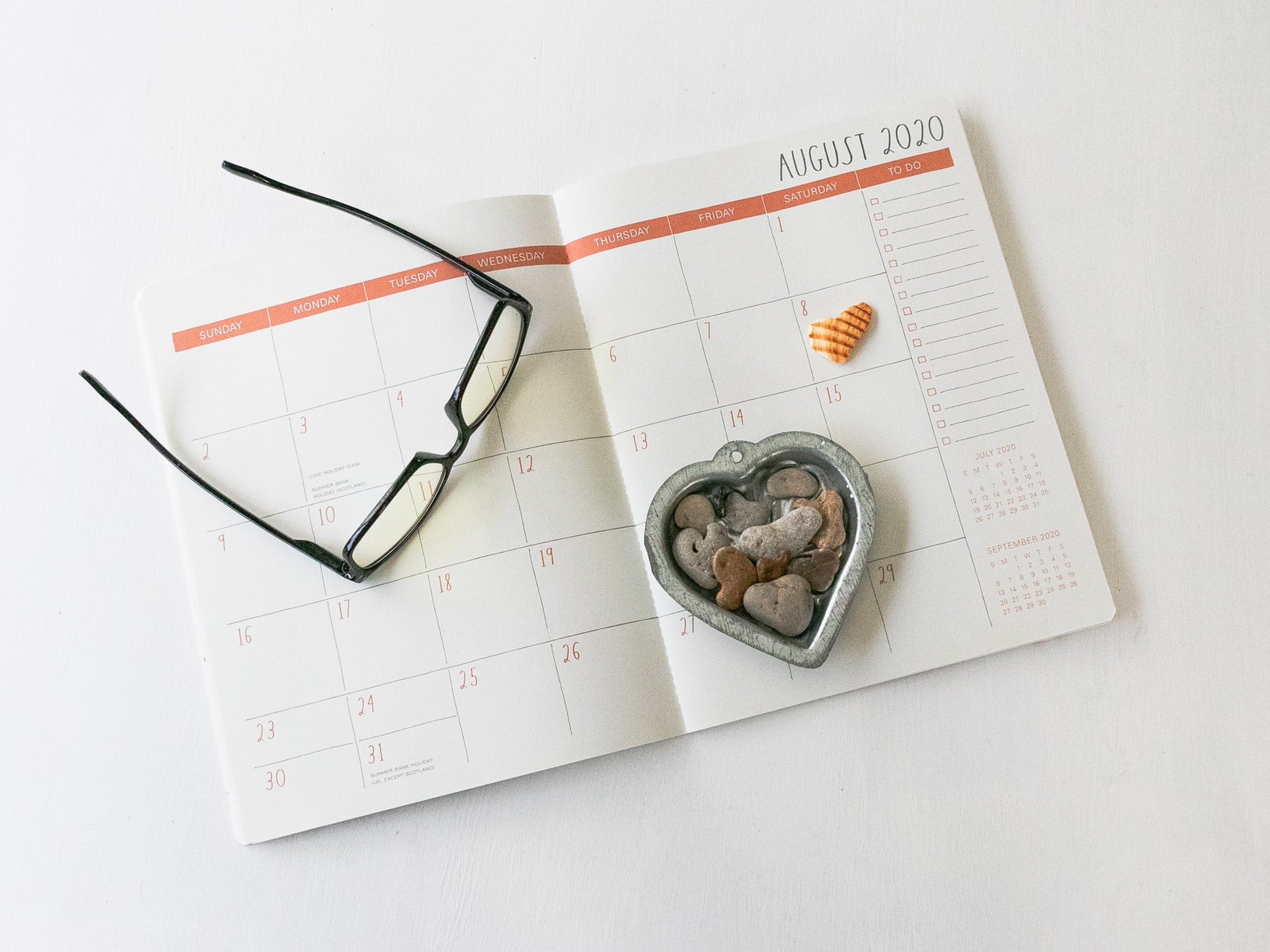 August Monthly Goal 2021