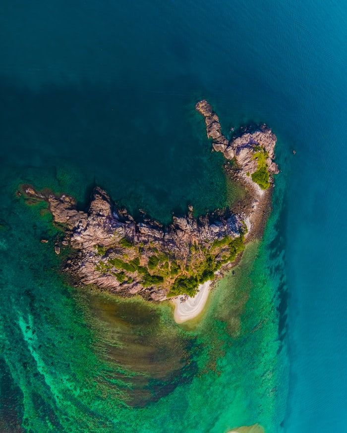 Aerial view of Redang Island