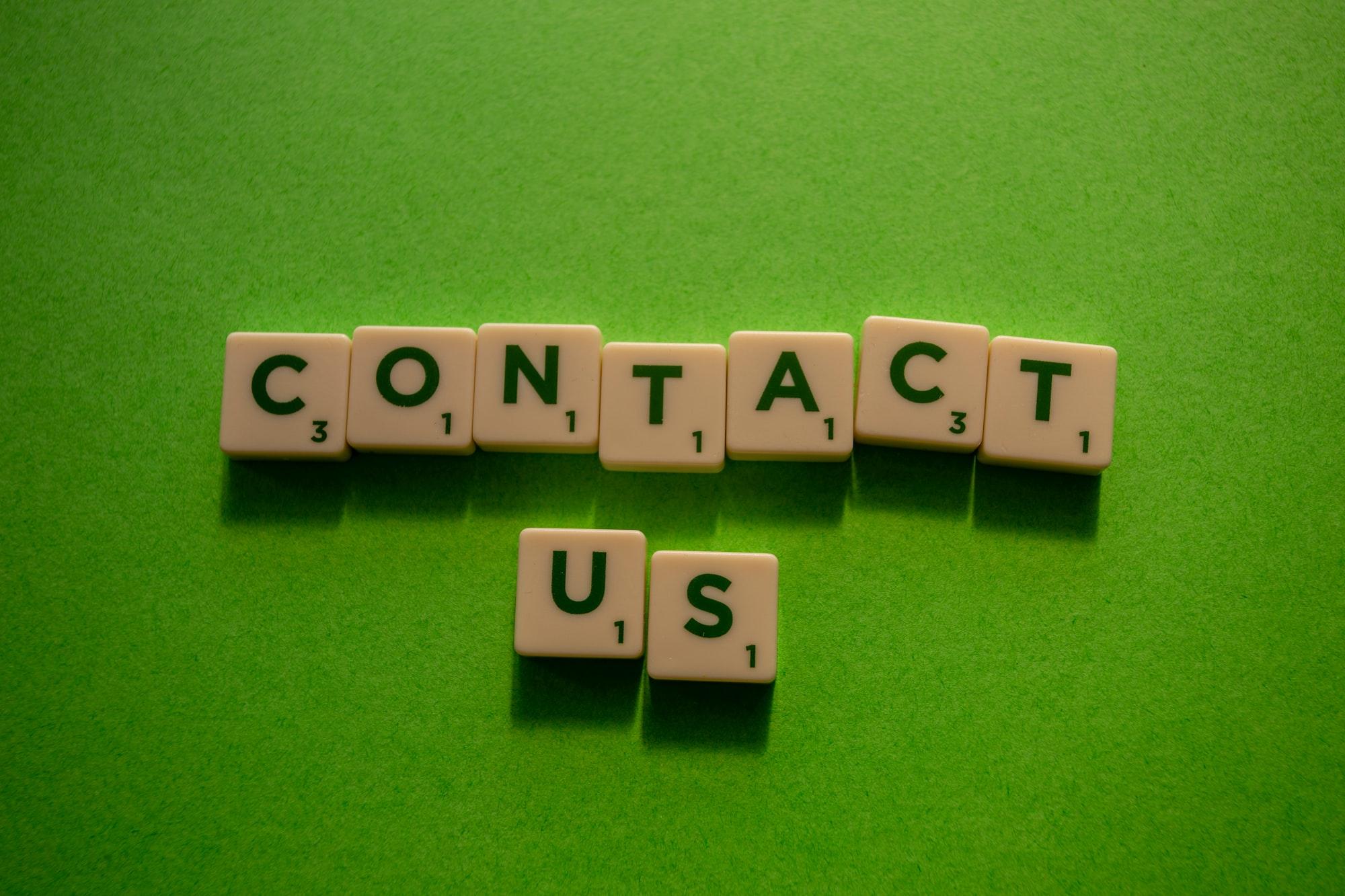 Kontakt os.