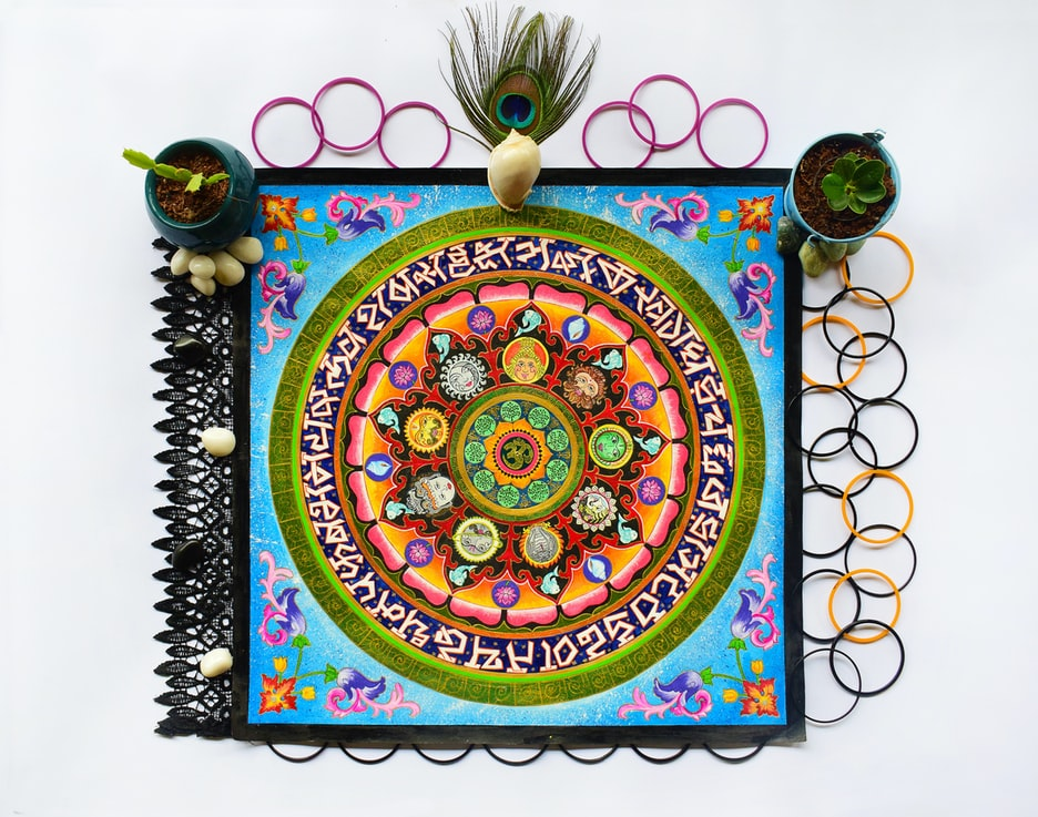 beautiful hindustani art