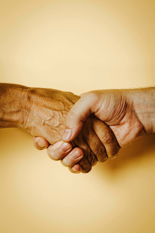 Handskakningen