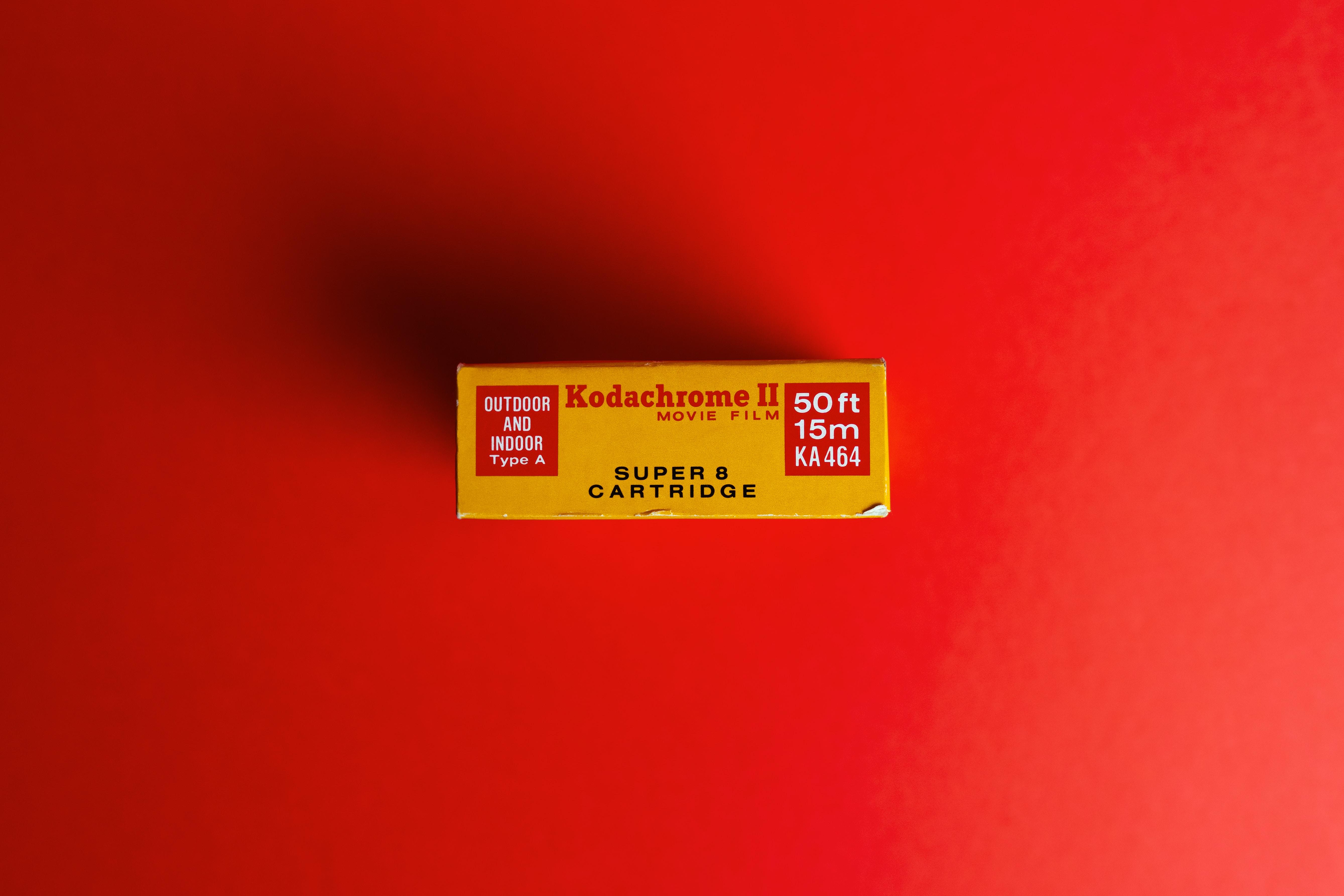 Super 8 Kodak Kodachrome II expired Dec. '73