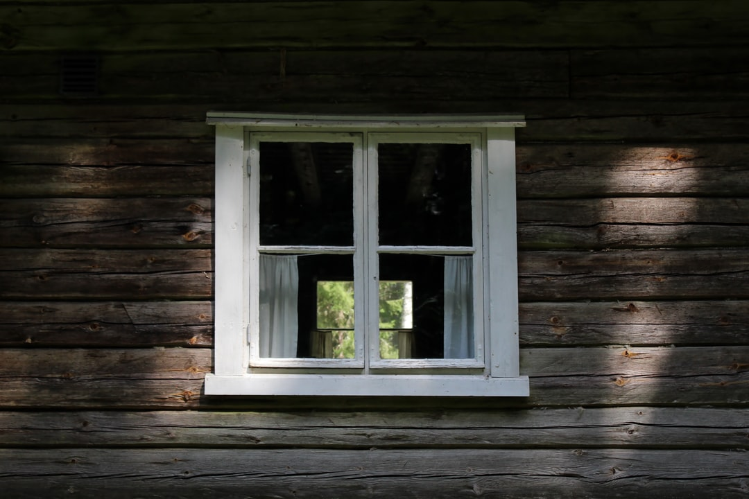 White Wooden Framed Glass Window - unsplash