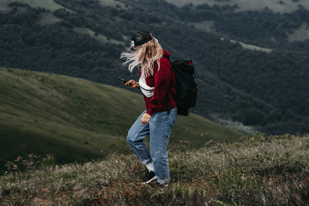 Alone Girl In the Mountains  - unsplash