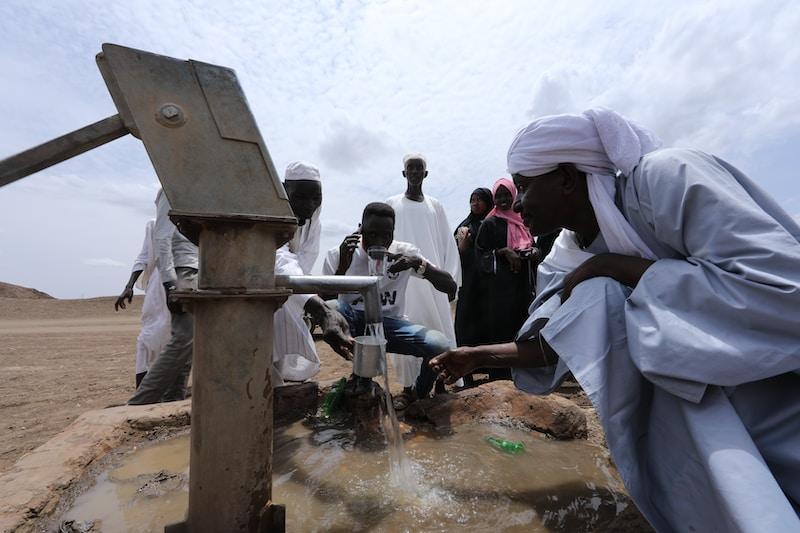Coldest places in Sudan by minimum mean temperature