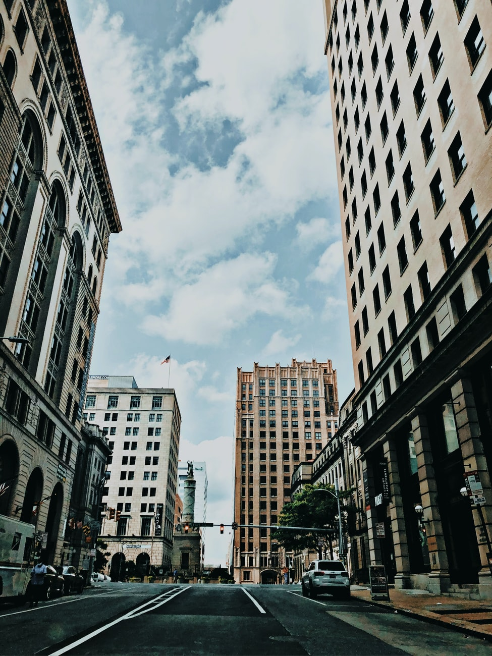 downtown baltimore streets