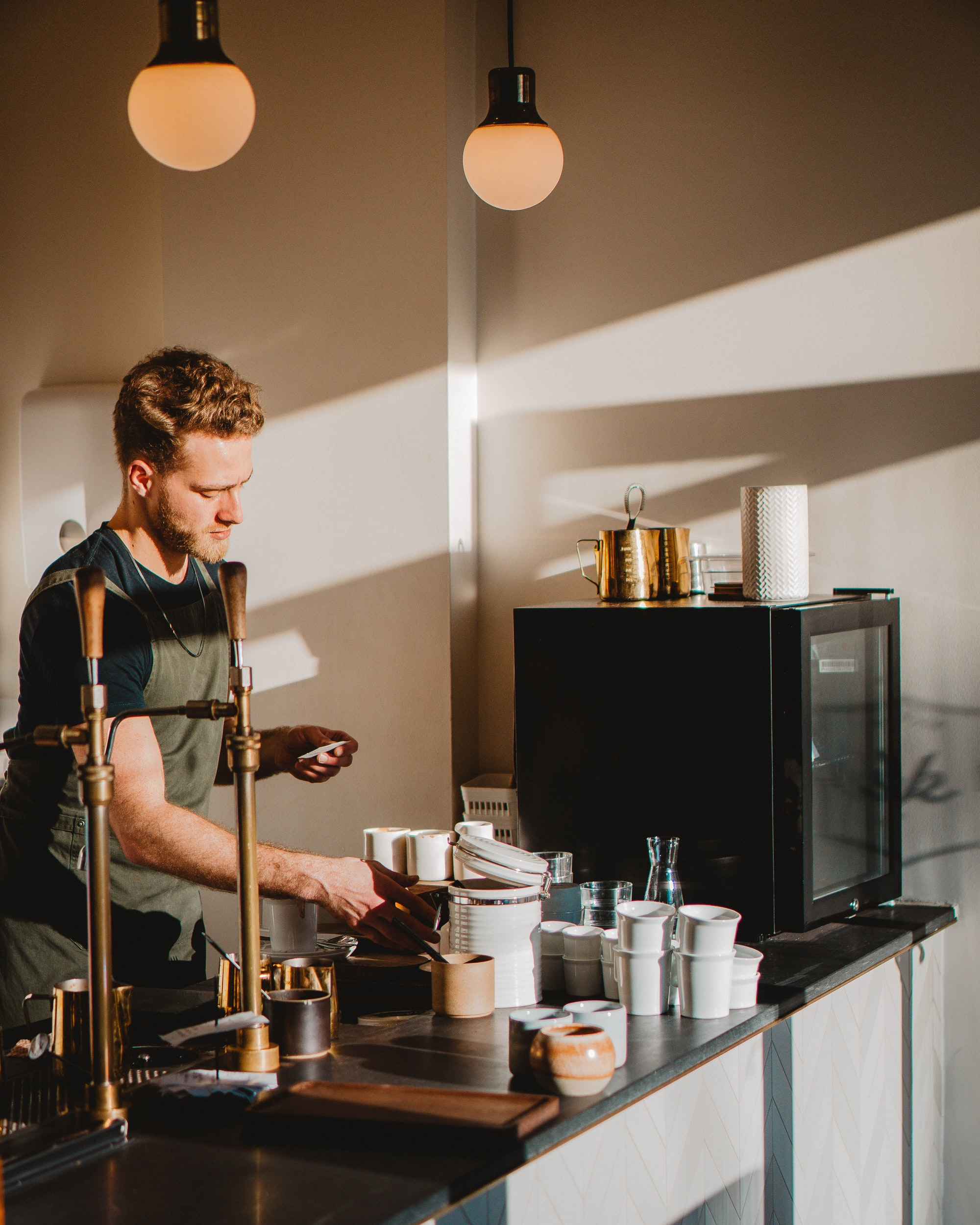 Milestone: Short back and forth in German with a barista in Berlin