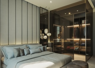 AJ MasterBedroom - Modern  Designed by PastModern Kuwait.