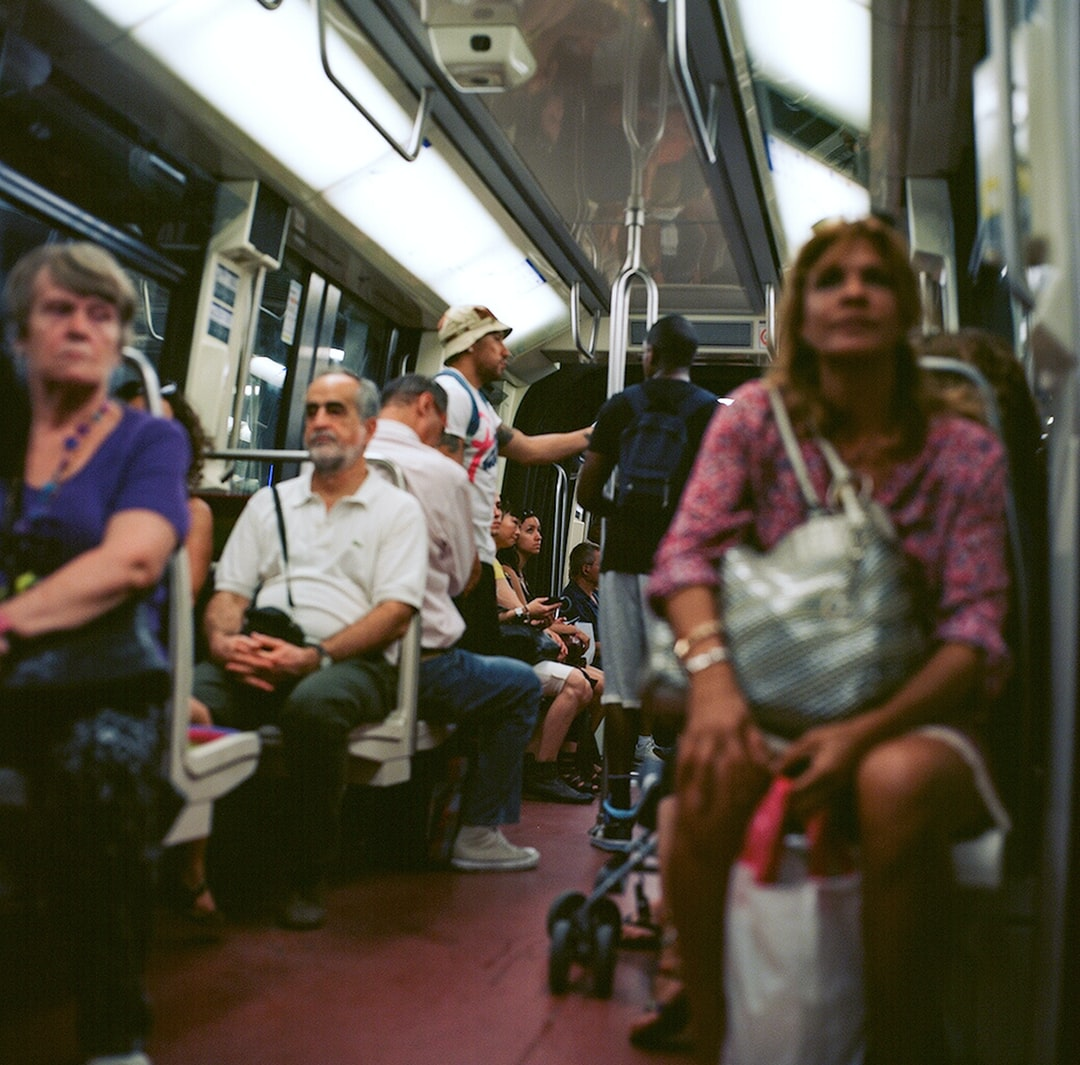 People Sitting On Train Seat - unsplash