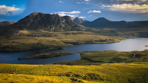 Peace at Scotland Highlands