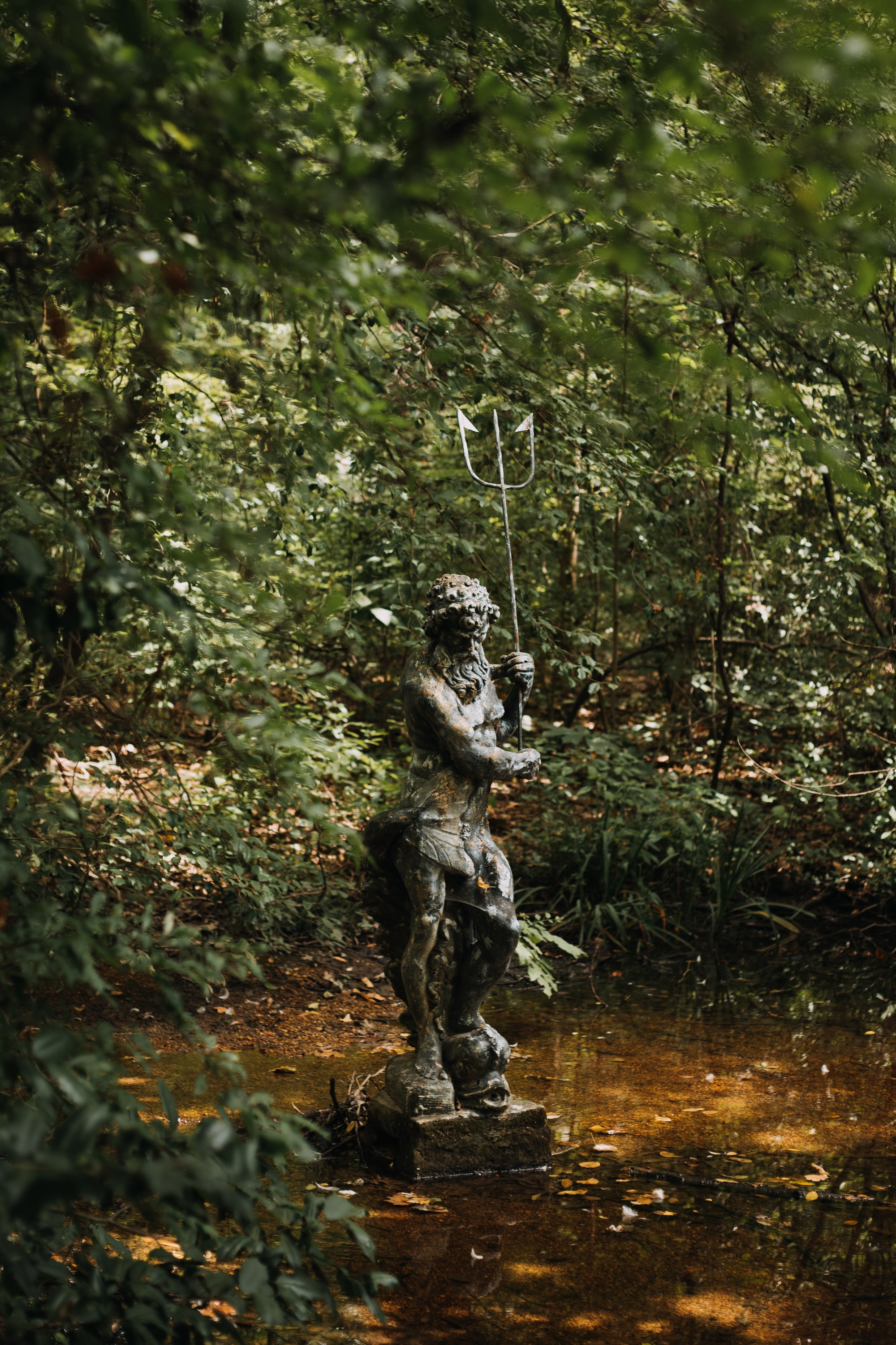 Guardian of the Goose Pond | Memphis Botanical Garden