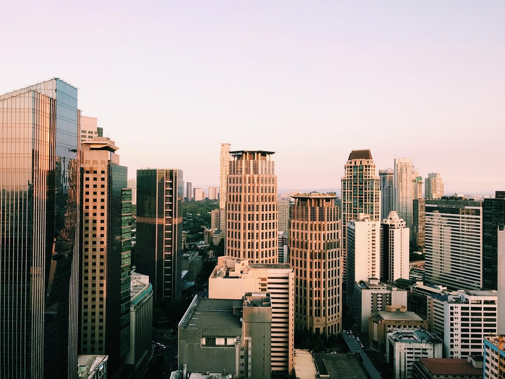 high rise buildings during daytime