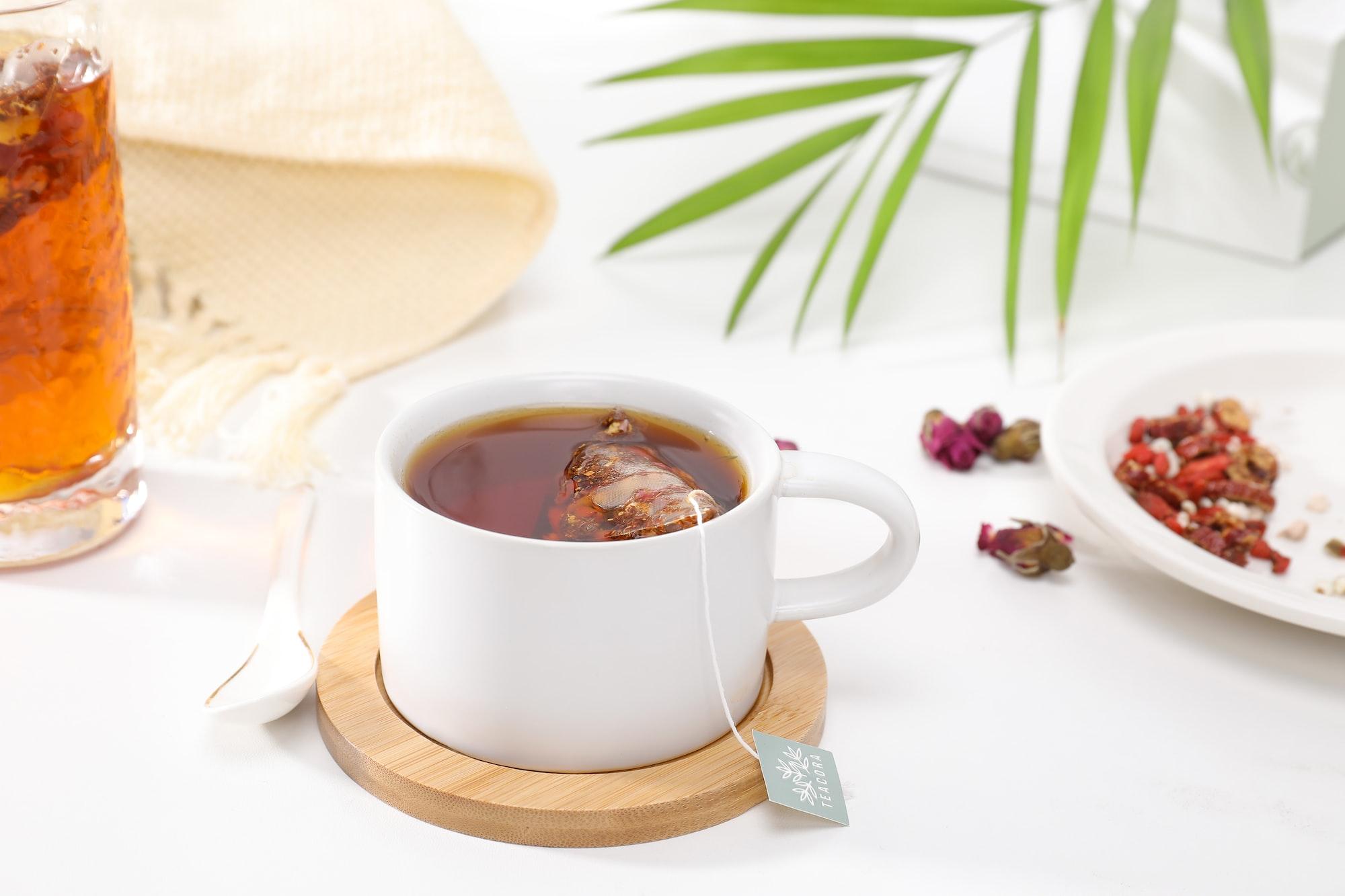 Tea by Teacora Rooibos.
