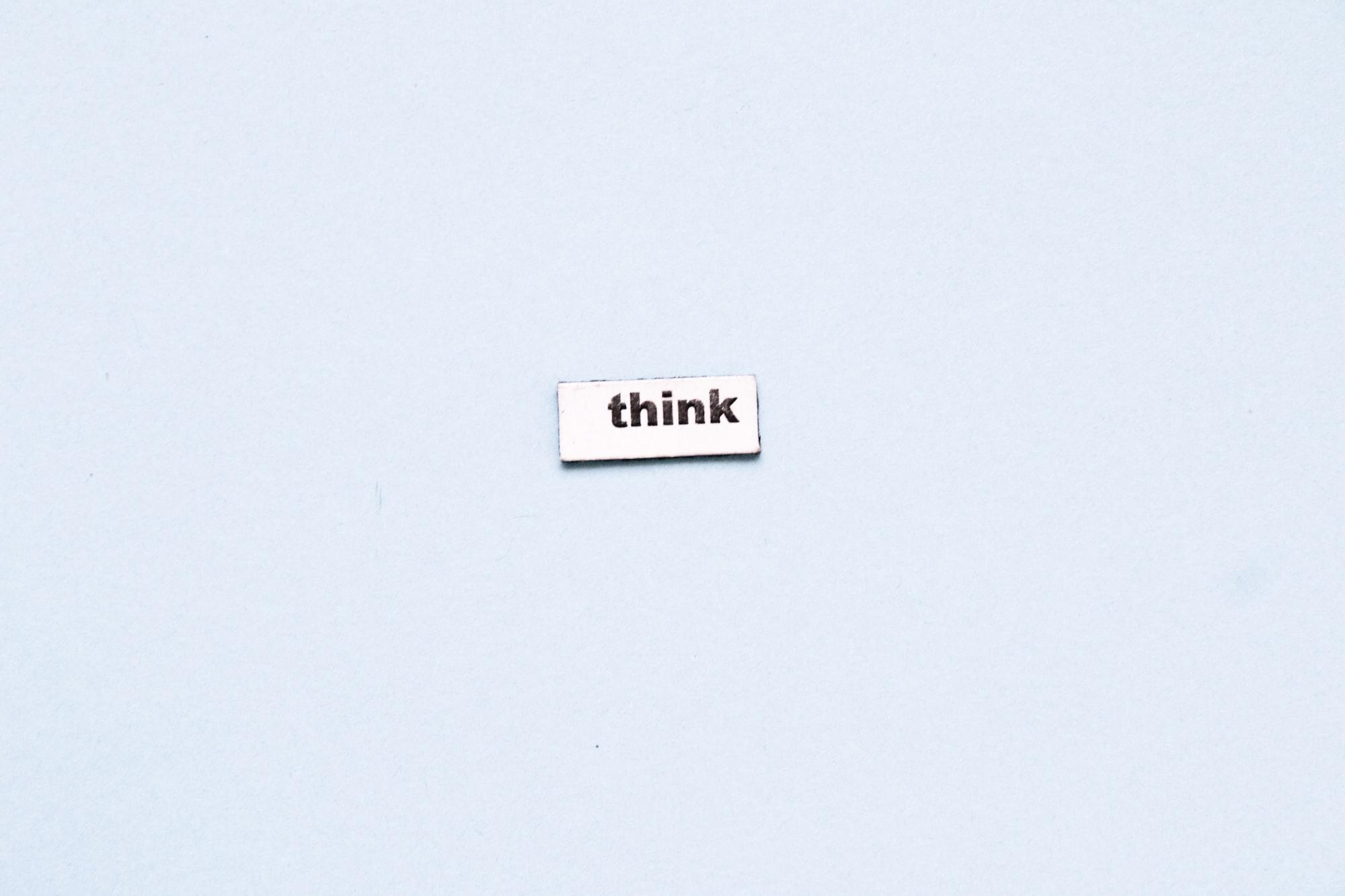 Hard Solid Thinking