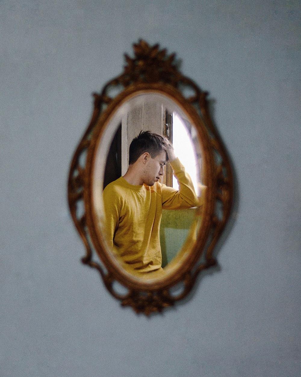 woman in yellow dress photo