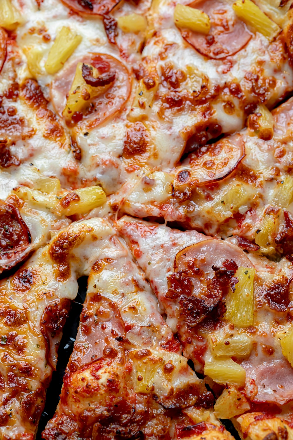 pizza with cheese and cheese