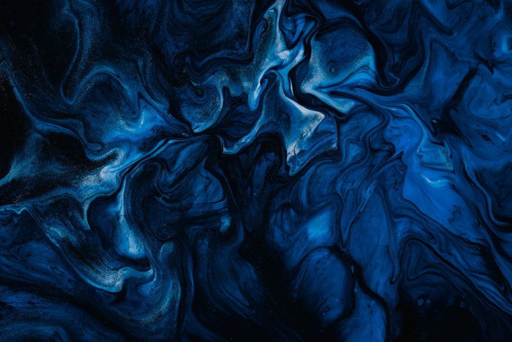 Blue And Black Abstract Painting Photo Free Pattern Image On Unsplash