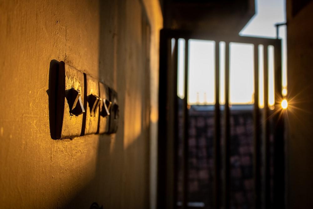 black wooden window frame during daytime