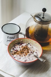 Oatmeal for breastmilk production, nuts for increasing milk supply, fenugreek tea to boost milk supply