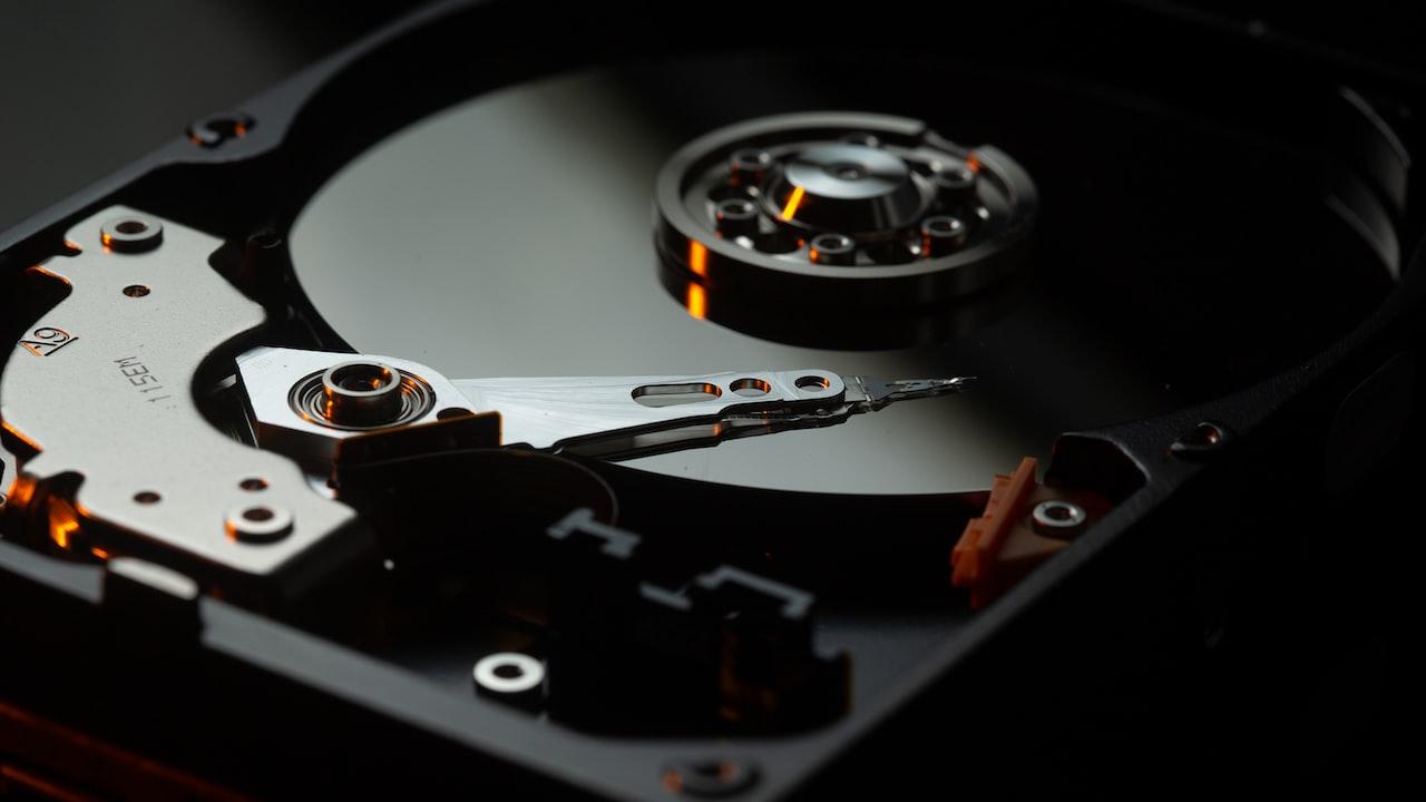 Image of hard drive
