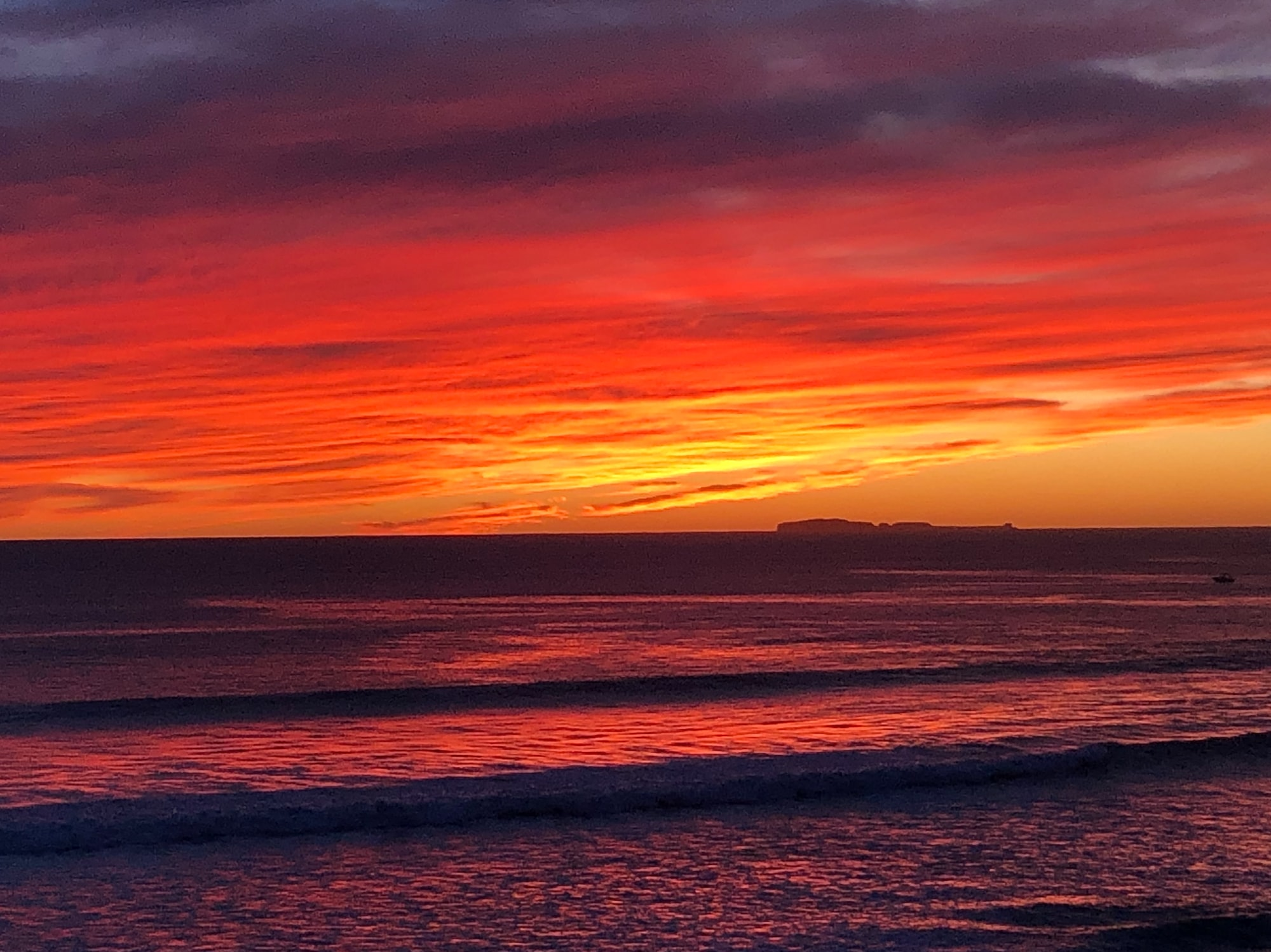 True colors. Mexican Pacific Sunset.
