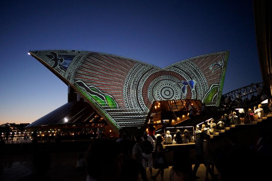 Projection on the Sydney Opera House.