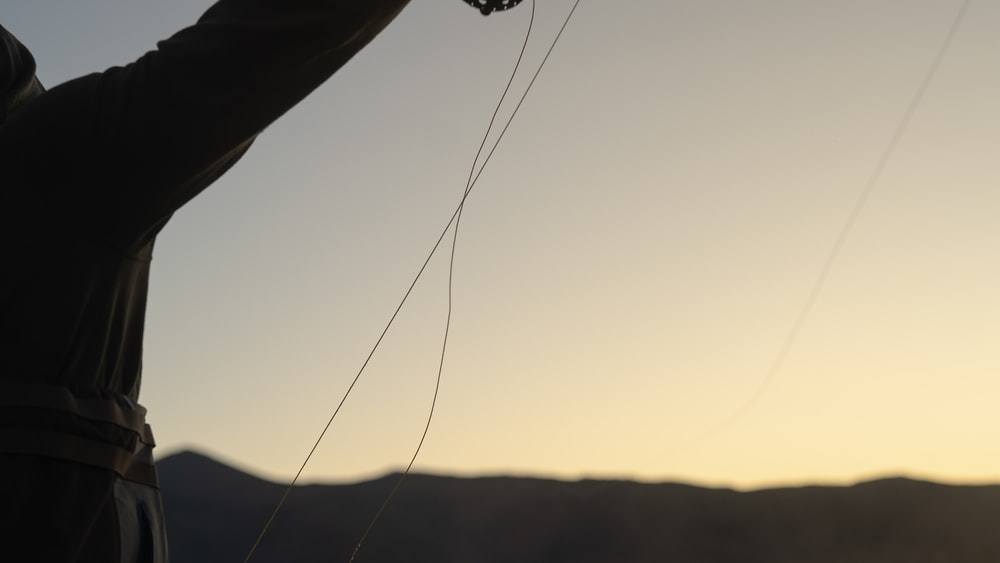 black rope during day time