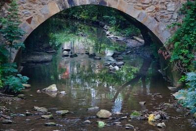 Bridge over small river