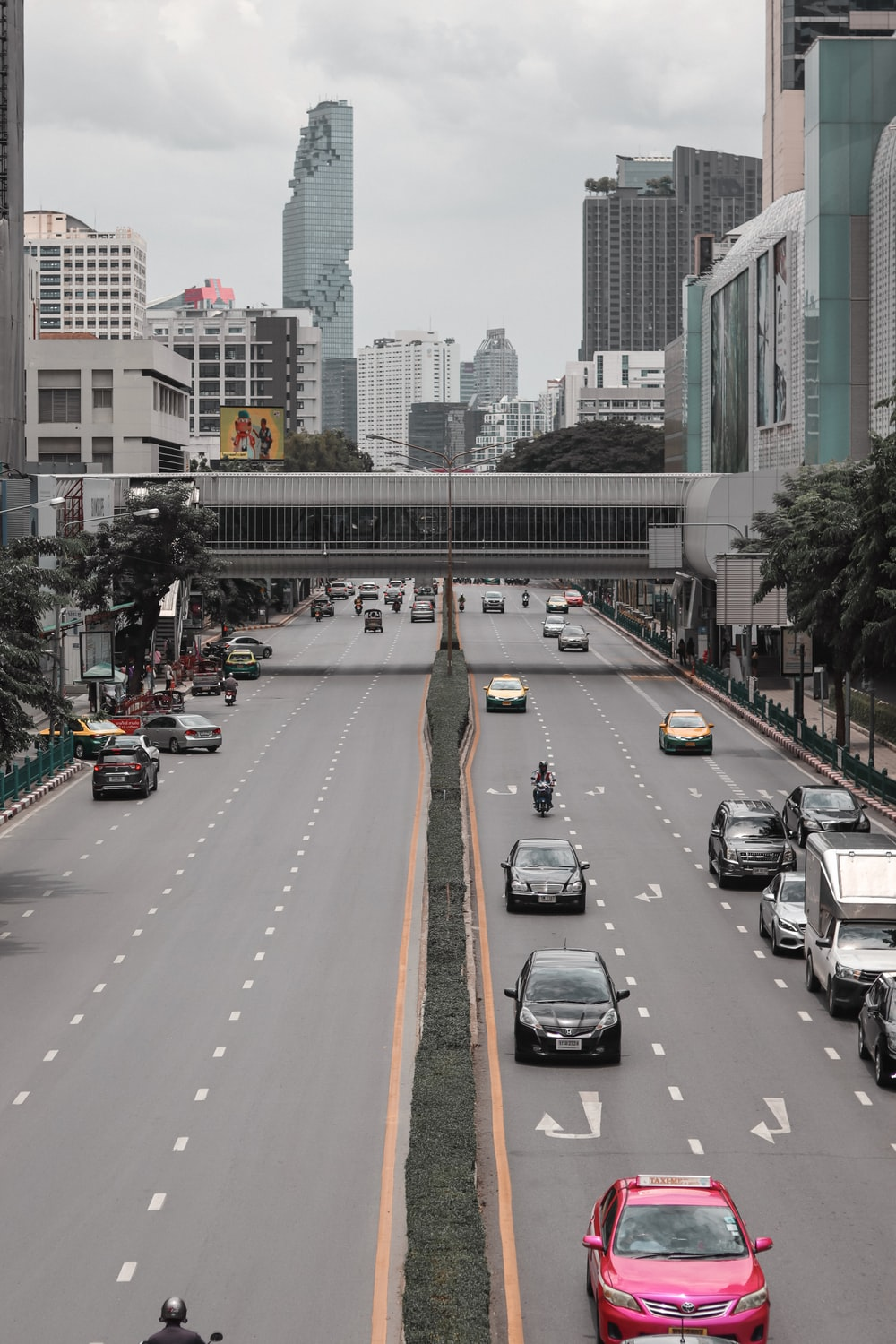 cars on road during daytime