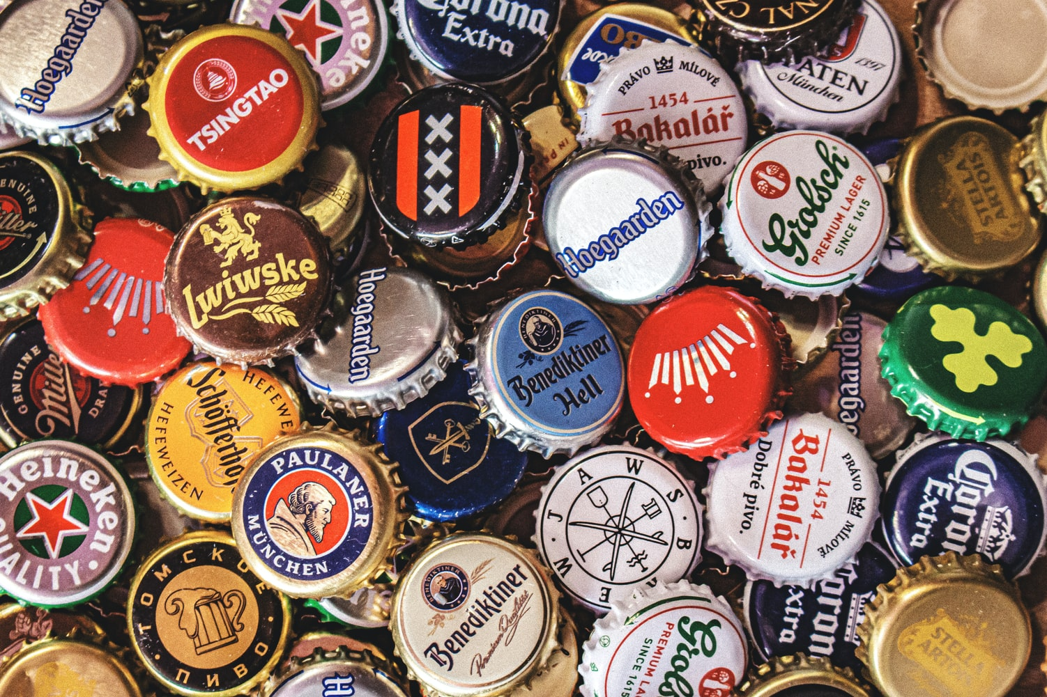 beer can logos and slogans