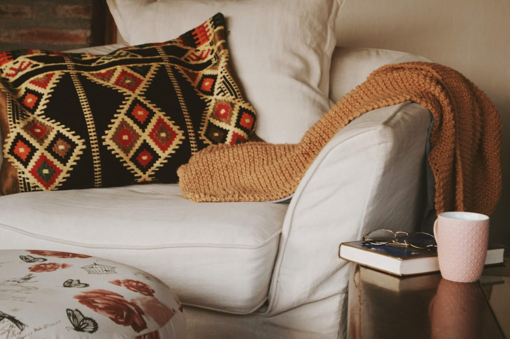 Add comforting touches to create warmth in your home.