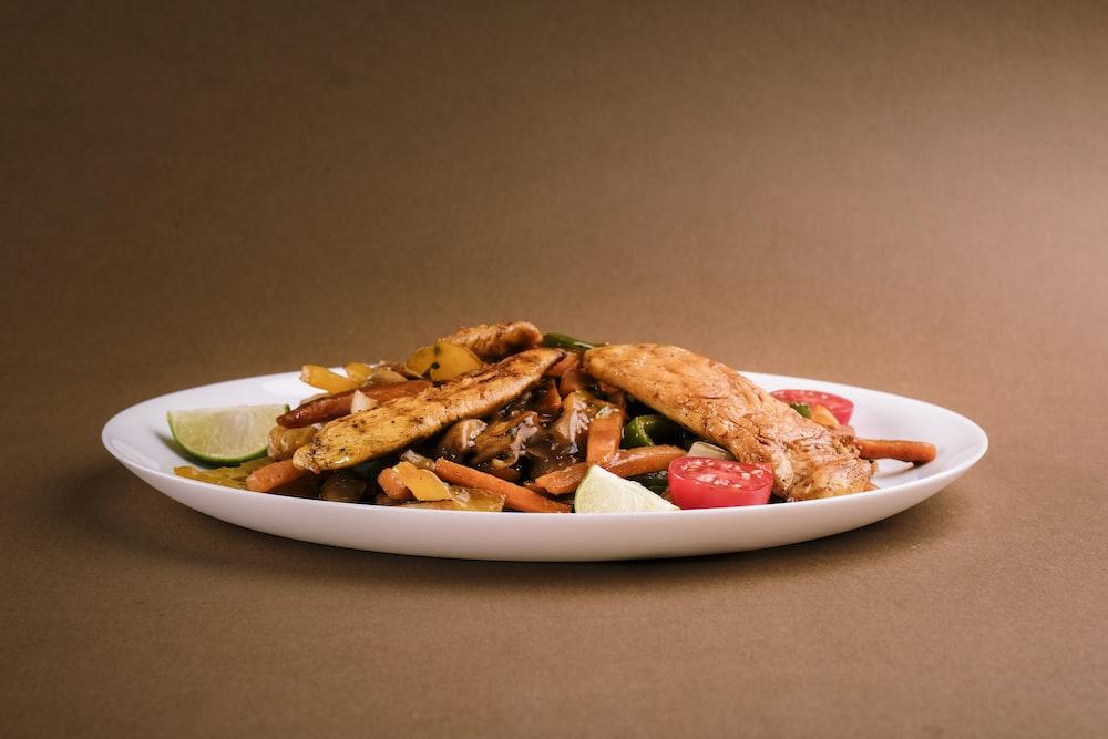 potato fries on white ceramic bowl
