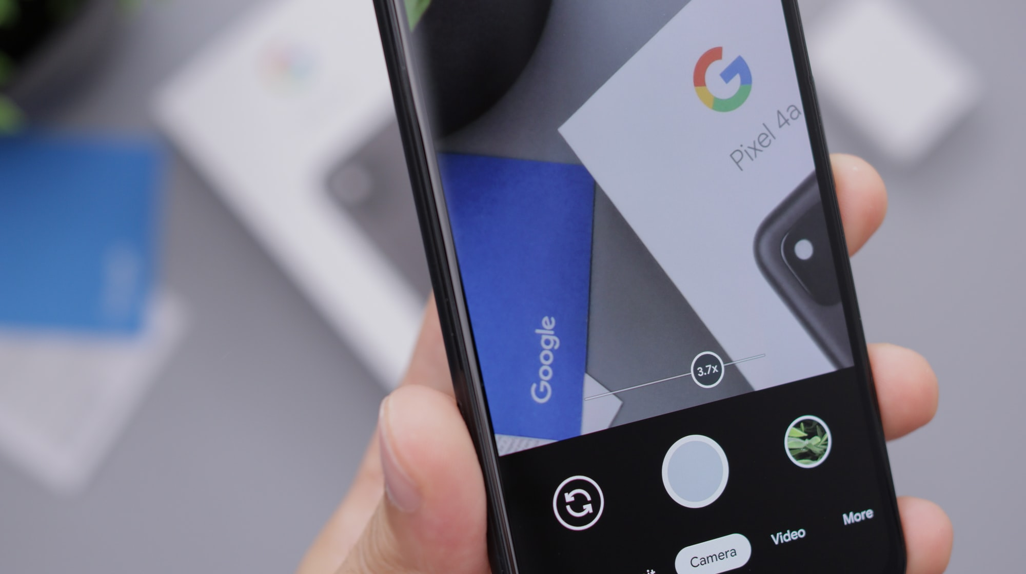 Taking a Photo with a Google Android Smartphone
