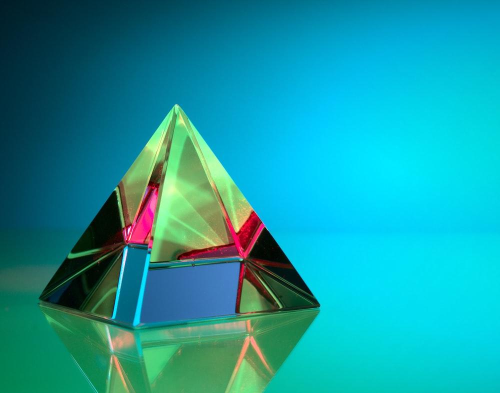 pink and purple diamond shape