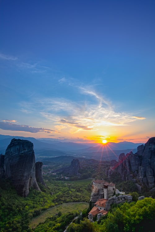 Meteora, Places to Visit in Greece in May
