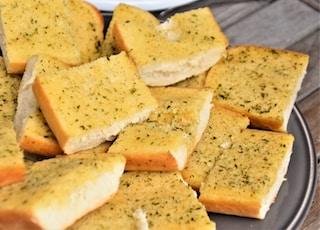 brown bread on white ceramic plate