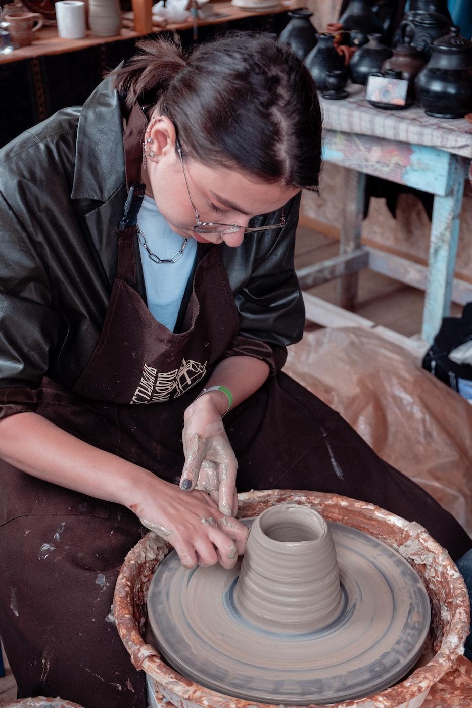 hobi seni tanah liat