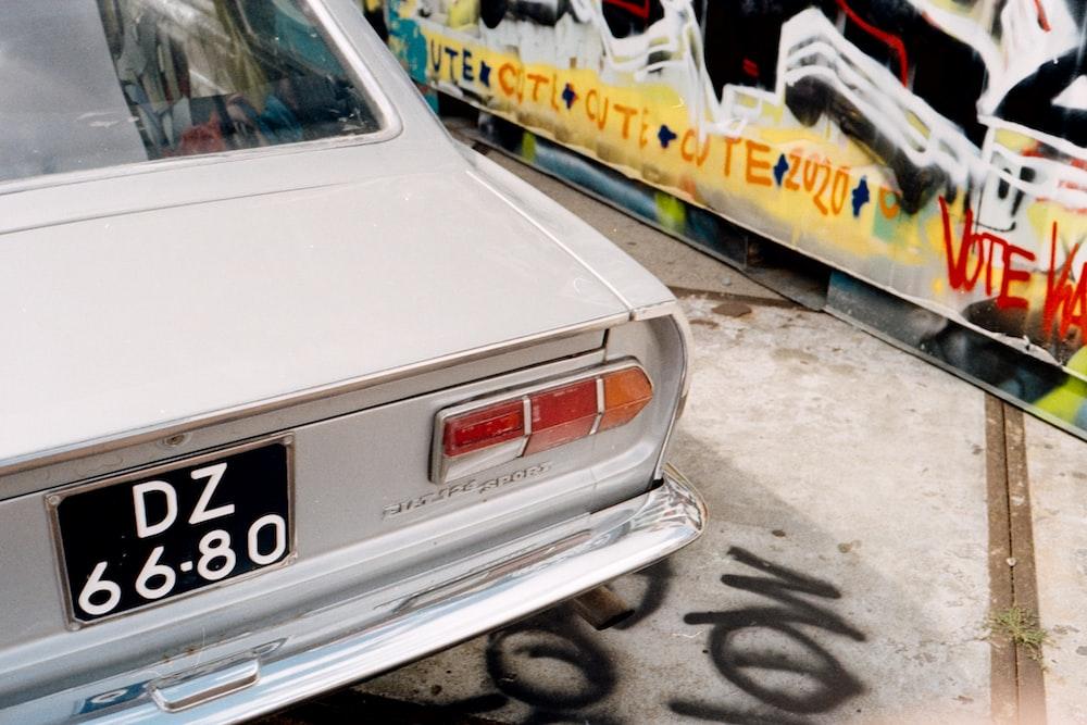white mercedes benz car on a parking lot