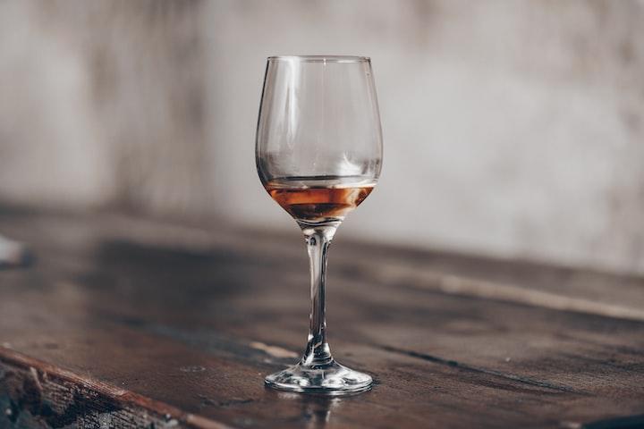 Half-Finished Wine Glasses