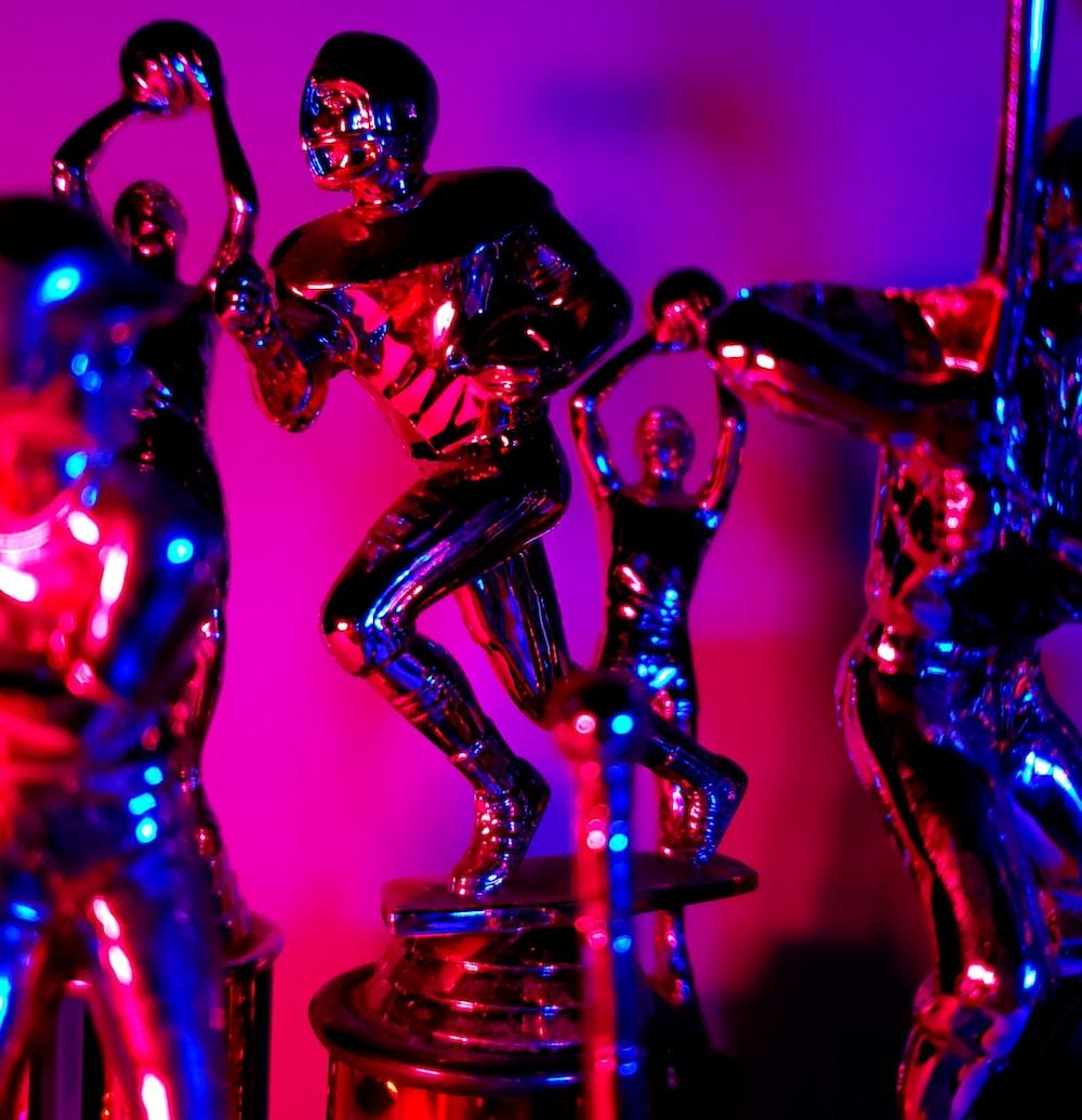 man in black suit figurine