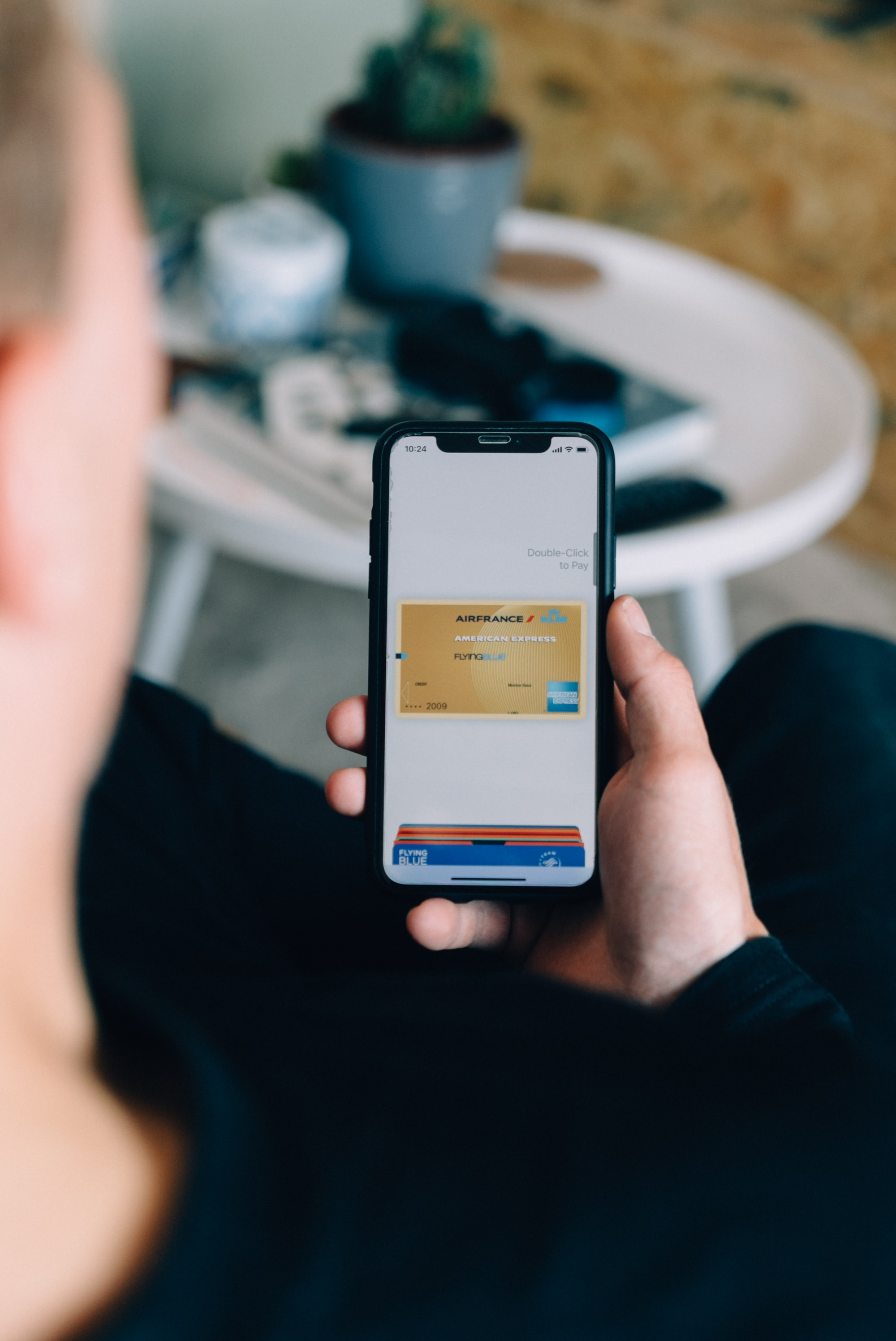 Using my American Express creditcard with Apple Pay