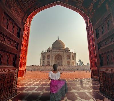 Tajmahal gate image