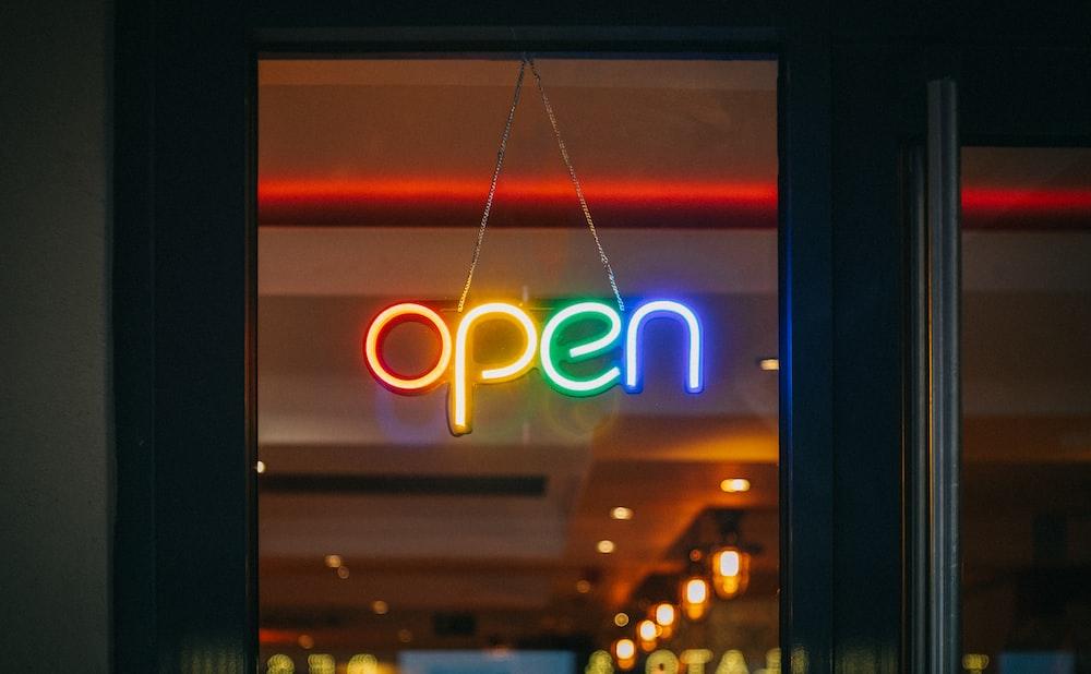 be an open door to your partner