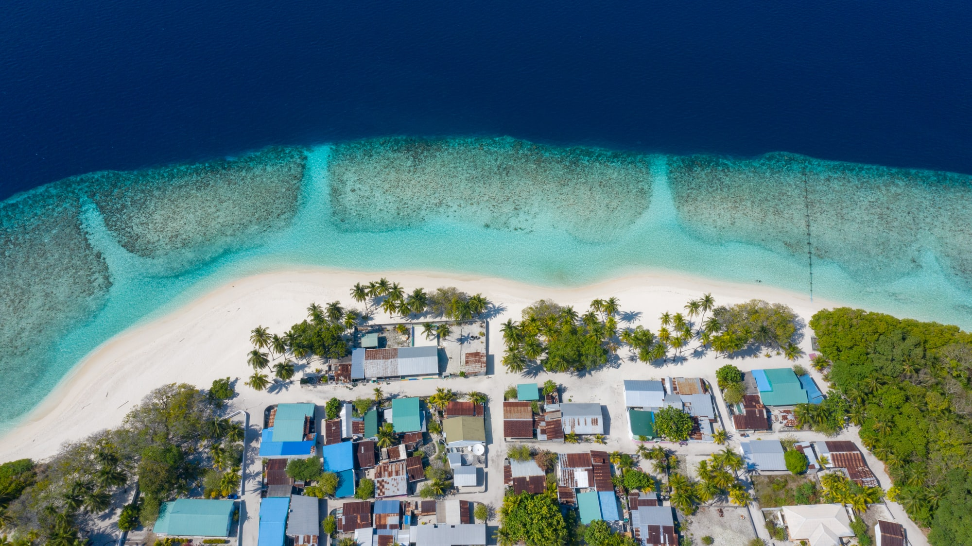An island in Baa.Atoll in the UNESCO biosphere reserve in the Maldives.