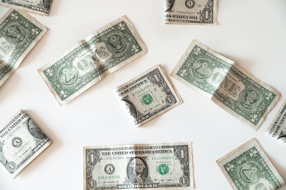 1 us dollar bill