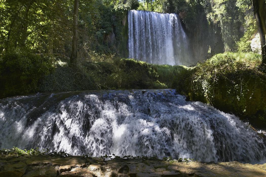 Piedro waterfall in Spain