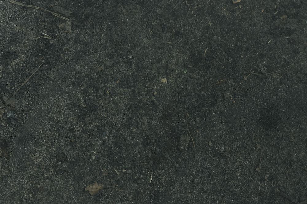 black and gray concrete floor
