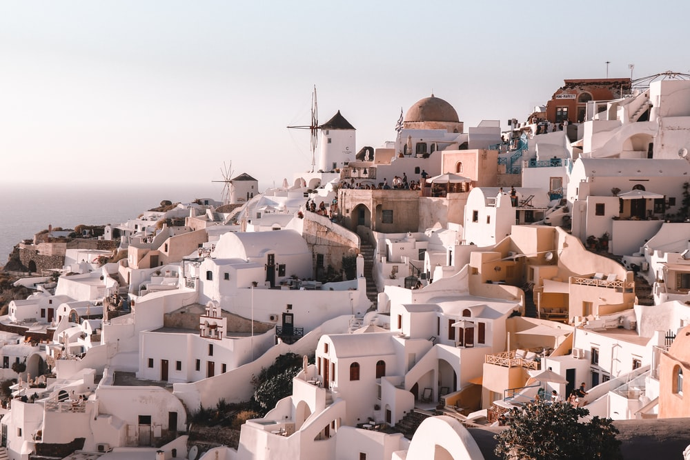 white and brown concrete houses during daytime