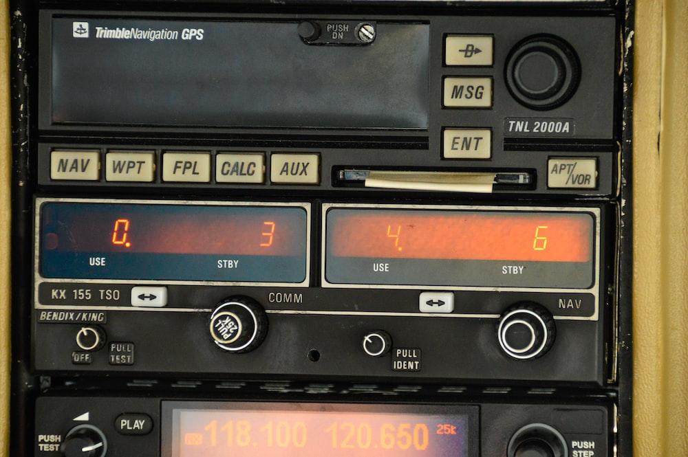 black car stereo at 2 00
