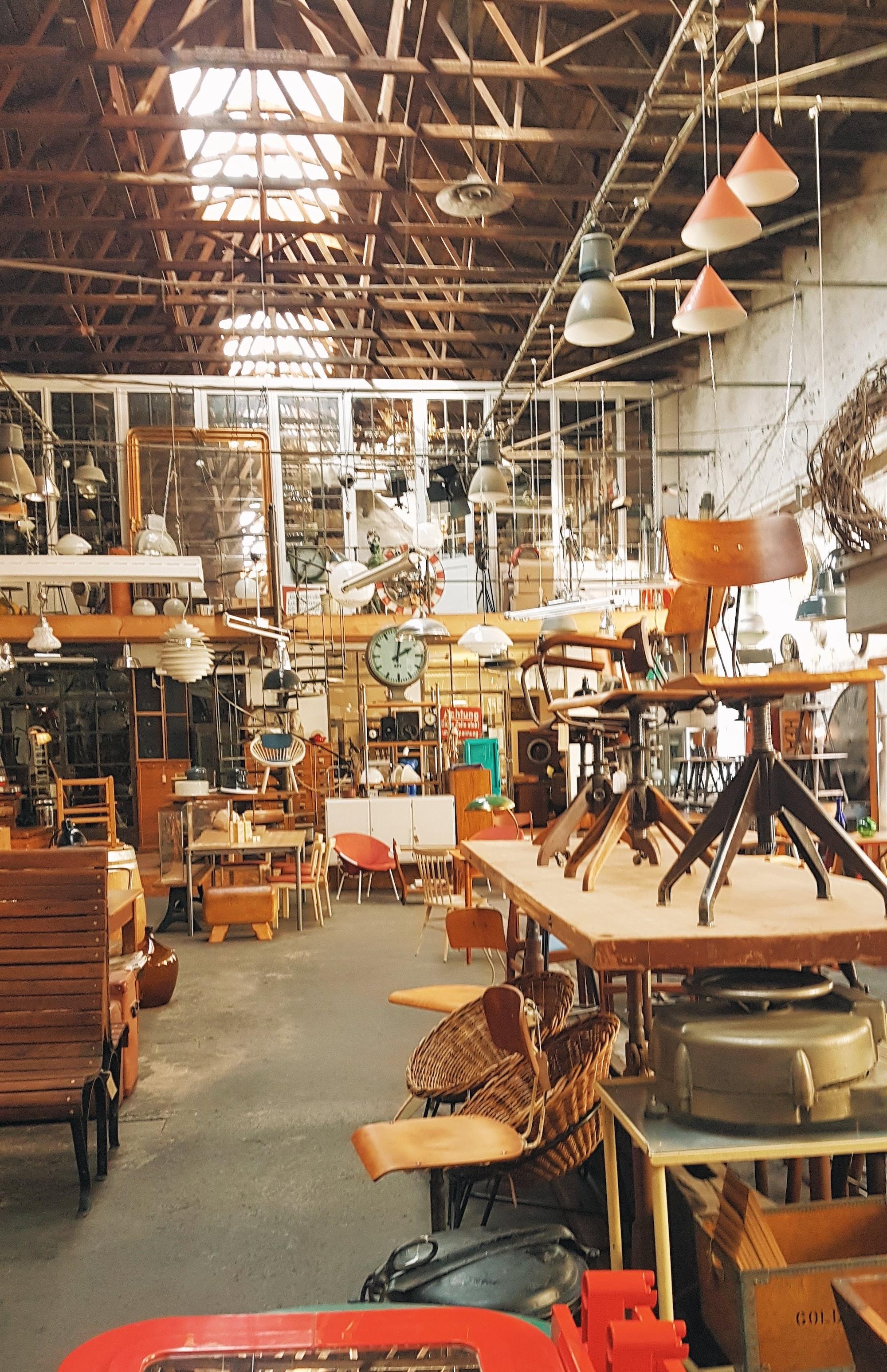 Flea Market in Leipzig, Germany. For more visual travel inspiration visit our instagram: https://www.instagram.com/reiseuhu